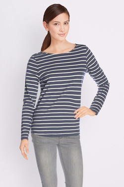 Tee-shirt manches longues SOMEWHERE IGO Bleu marine
