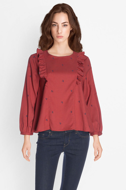 Blouse SOMEWHERE IKES Rouge