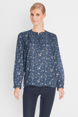Blouse SOMEWHERE IKOMA Bleu