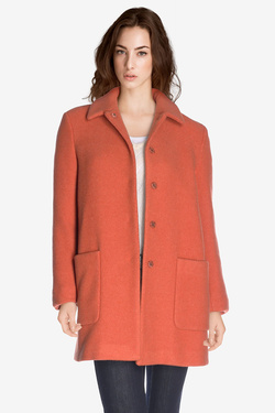 Manteau SOMEWHERE IMLAC Rouge
