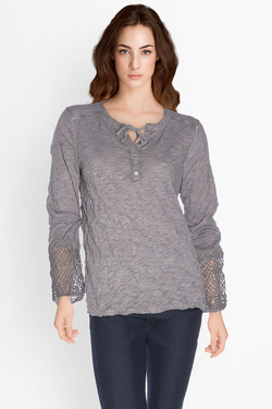 STREET ONE - Tee-shirt manches longues310911Gris