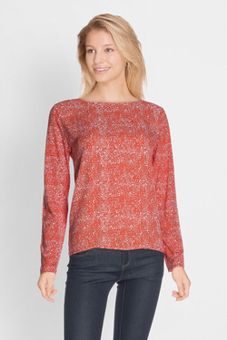 Tee-shirt manches longues STREET ONE 311617 Orange