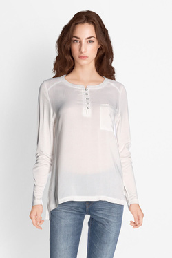 Tee-shirt manches longues STREET ONE 311760 Blanc
