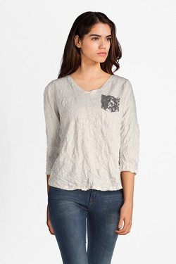 Tee-shirt manches longues STREET ONE 311846 Blanc