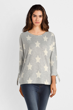 Sweat-shirt STREET ONE 312539 Gris