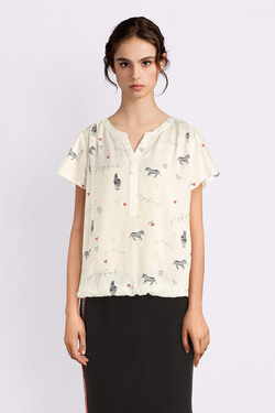 Blouse STREET ONE 341583 Ecru