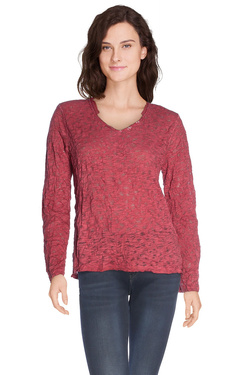 STREET ONE - Tee-shirt manches longuesS/310712Rouge