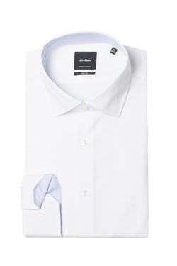 Chemise manches longues STRELLSON 30011610 Blanc