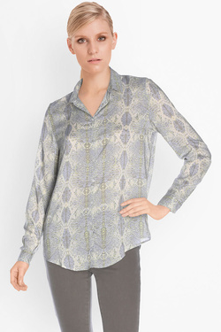 Chemise manches longues SUD EXPRESS CLICHY Gris