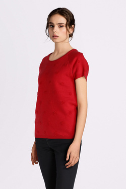 Pull SUD EXPRESS MESILO Rouge