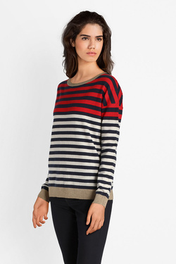 Pull SUD EXPRESS MANCIEN Rouge
