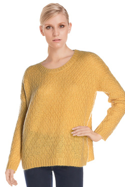 SUD EXPRESS - Pull15441Jaune moutarde