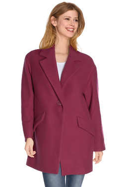 Manteau SUD EXPRESS 15340 Rose fuchsia