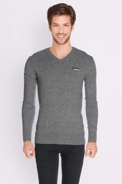 Pull SUPERDRY M61000NS1 Gris