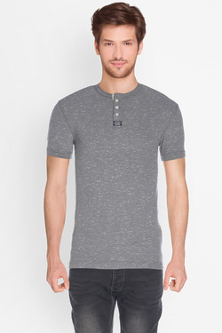 Tee-shirt SUPERDRY M60021TOF3 Gris
