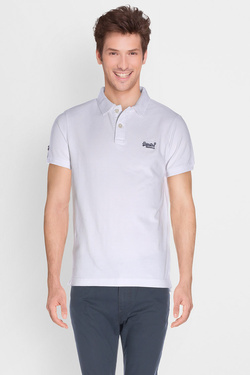 Polo SUPERDRY M11010TO Blanc