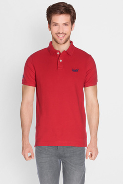 Polo SUPERDRY M11010TODS Rouge