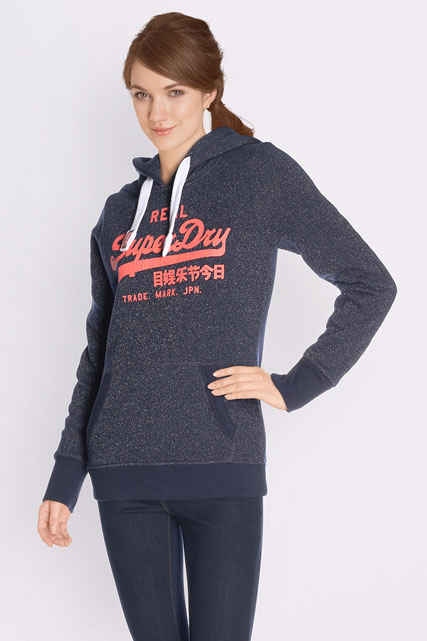 superdry sweat shirt g20016xp bleu marine femme des marques et vous. Black Bedroom Furniture Sets. Home Design Ideas