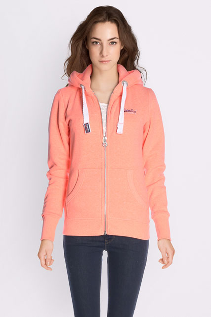superdry sweat shirt g20012xpf6 corail femme des marques et vous. Black Bedroom Furniture Sets. Home Design Ideas