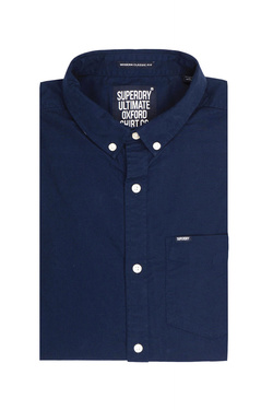 Chemise manches longues SUPERDRY M40005OPF3 Bleu marine