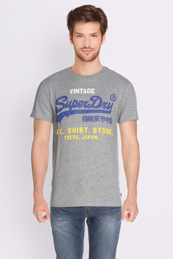 Tee-shirt SUPERDRY M10009PP Gris