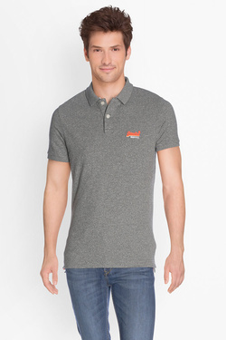 Polo SUPERDRY M11002OPF1 Gris