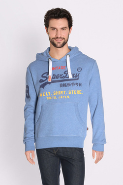 Sweat-shirt SUPERDRY M20032PQ Bleu