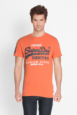 Tee-shirt SUPERDRY M10006PQ Orange