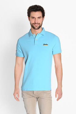 Polo SUPERDRY M11002OQDS Bleu turquoise