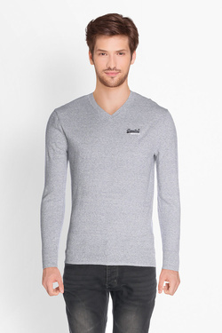 Pull SUPERDRY M61000NS Gris