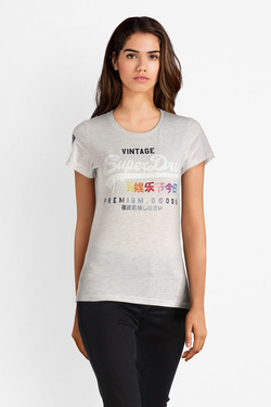Tee-shirt SUPERDRY G10009TR Gris