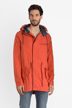 c1e71afb293d SUPERDRY Parka 100% coton - Orange