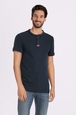 Tee-shirt SUPERDRY M60104RT Bleu marine