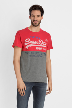 Tee-shirt SUPERDRY M10118TT Rouge