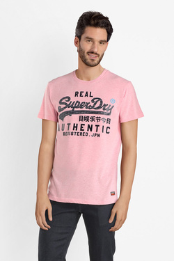 Tee-shirt SUPERDRY M10121TT Rose