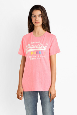 Tee-shirt SUPERDRY G10306AU Rose