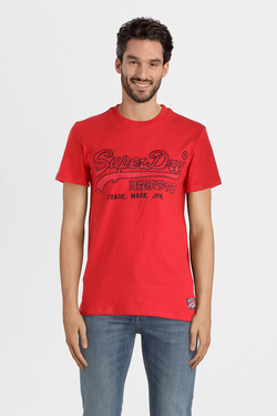 Tee-shirt SUPERDRY M1000006A Rouge