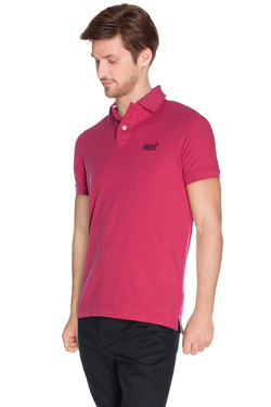 Polo SUPERDRY M11MO011F3 Rose