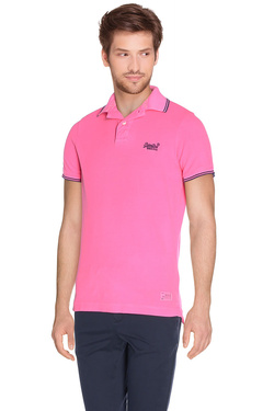 SUPERDRY - PoloM11MT000Rose fluo