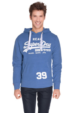 SUPERDRY - Sweat-shirtM20MA001F3Bleu