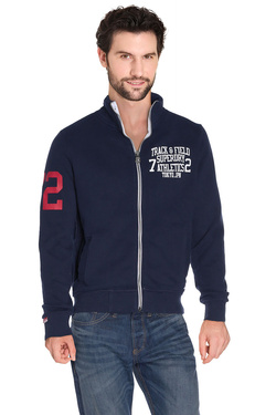 SUPERDRY - Sweat-shirtM60MX050F3Bleu marine