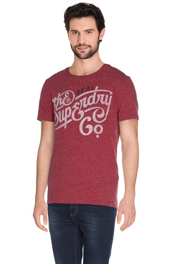 Tee-shirt SUPERDRY M10007XN Rouge