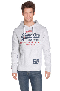 SUPERDRY - Sweat-shirtM20003ANDSGris clair