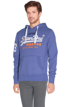 SUPERDRY - Sweat-shirtM20009ANF2Bleu