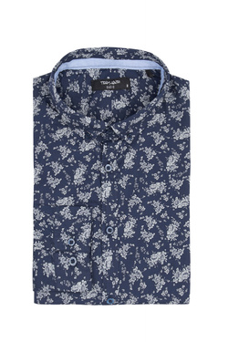 Chemise manches longues TEDDY SMITH 10711547D Bleu marine
