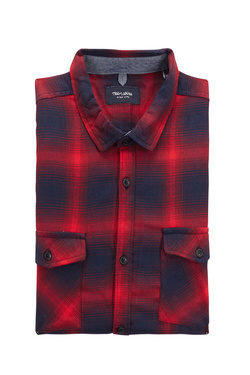 Chemise manches longues TEDDY SMITH 10713609D Rouge