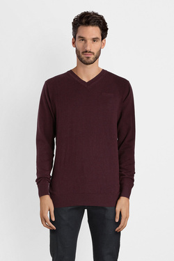 Pull TEDDY SMITH 11502745D Rouge bordeaux