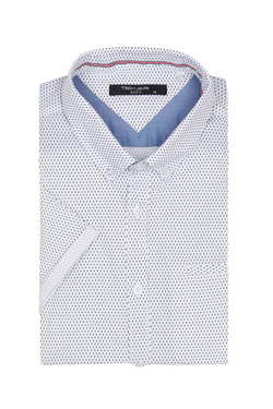 Chemise manches courtes TEDDY SMITH 10711556D Blanc