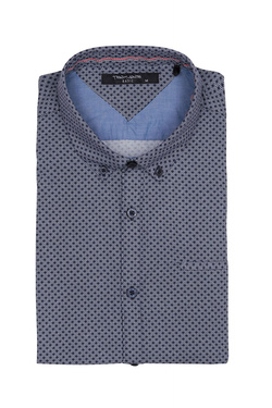 Chemise manches courtes TEDDY SMITH 10711556D Bleu marine