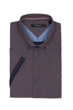 Chemise manches courtes TEDDY SMITH 10711556D Violet